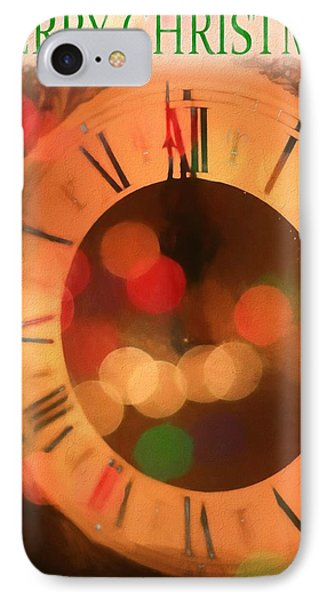 Spirit Of Christmas Card IPhone Case by Dan Sproul