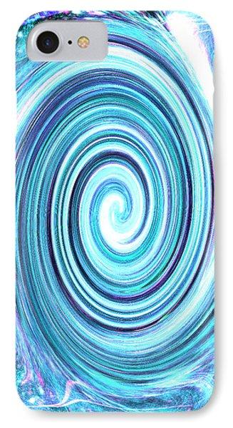 iPhone 7 Case - Spirit Of Sky I by Orphelia Aristal