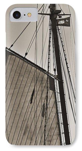 Spirit Of South Carolina Schooner Sailboat Sail IPhone Case
