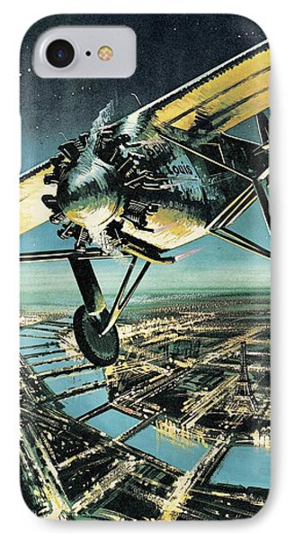 Spirit Of St Louis IPhone Case by Wilf Hardy