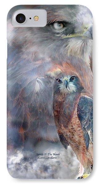Spirit Of The Hawk IPhone Case