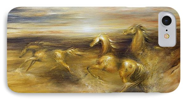 Spirit Of The Warrior Horse IPhone Case