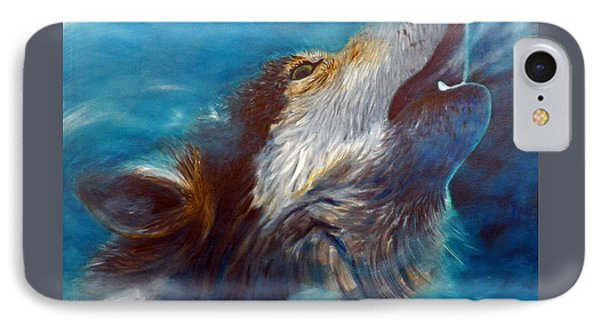 Spirit Of The Wolf IPhone Case by Brian  Commerford