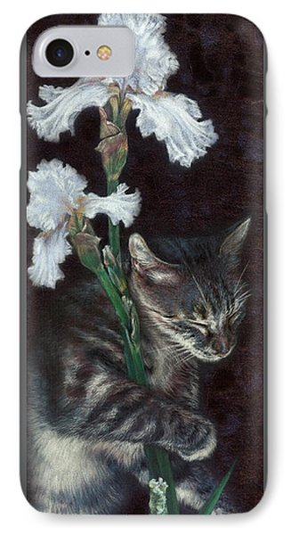 IPhone Case featuring the painting Spirit by Ragen Mendenhall