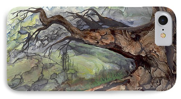 IPhone Case featuring the painting Spirit Tree by Sherry Shipley