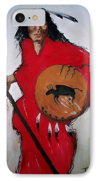 Spirit Warrior Phone Case by Patrick Trotter