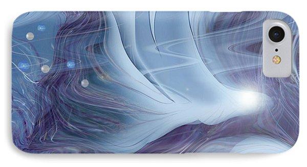 Spirit World IPhone Case by Linda Sannuti