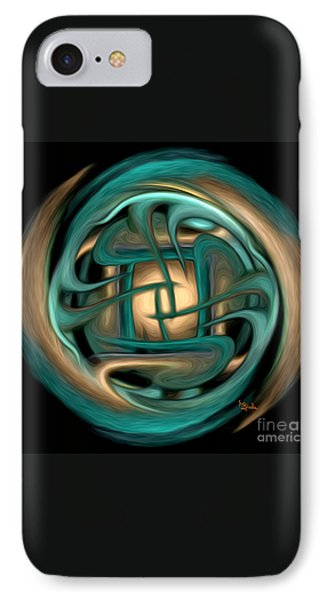 Spiritual Art - Healing Labyrinth By Rgiada IPhone Case by Giada Rossi