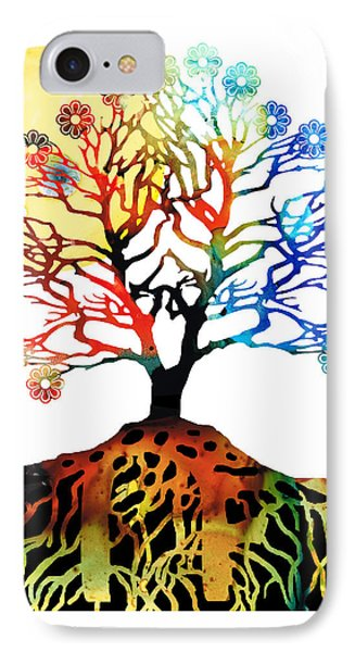 Spiritual Art - Tree Of Life IPhone Case