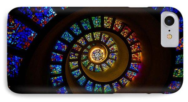 Spiritual Spiral Phone Case by Inge Johnsson