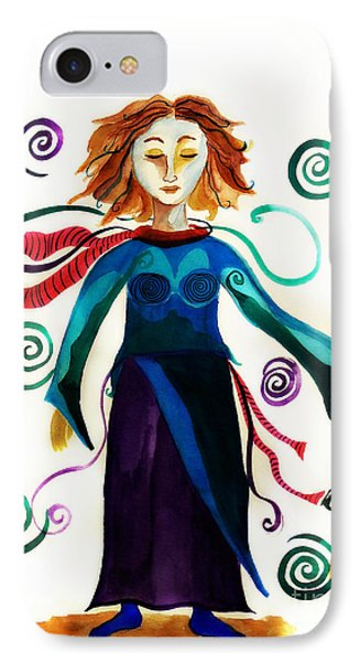 Spiritual Warrior Phone Case by Jean Fry