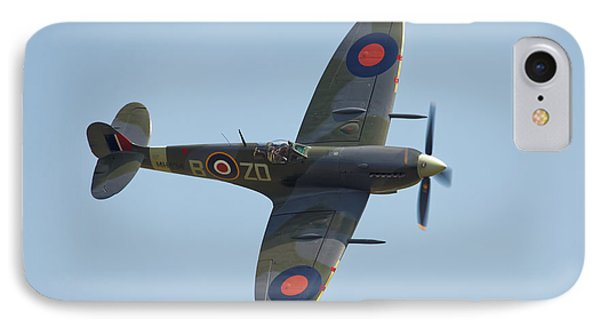 Spitfire Mk9 IPhone Case by Ian Merton