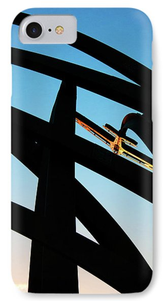 Spitfire On Fire IPhone Case