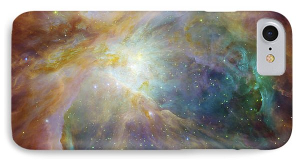 Spitzer And Hubble Create Colorful Masterpiece IPhone Case