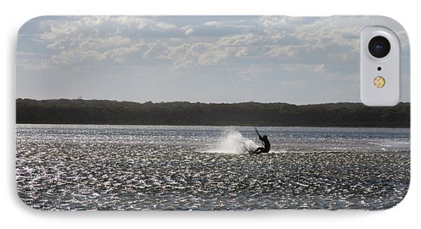 IPhone Case featuring the photograph Splash At Lake Wollumboola by Miroslava Jurcik
