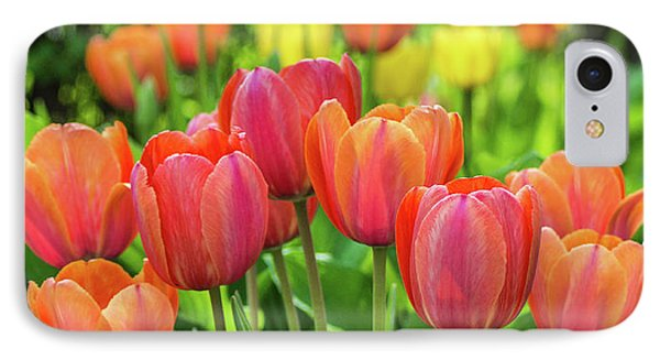 IPhone 7 Case featuring the photograph Splash Of April Color by Bill Pevlor