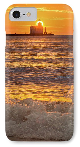 IPhone 7 Case featuring the photograph Splash Of Light by Bill Pevlor