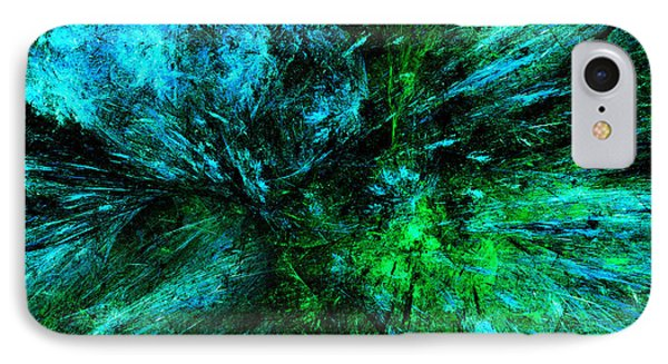 Splash Of Nature Abstract Grunge IPhone Case