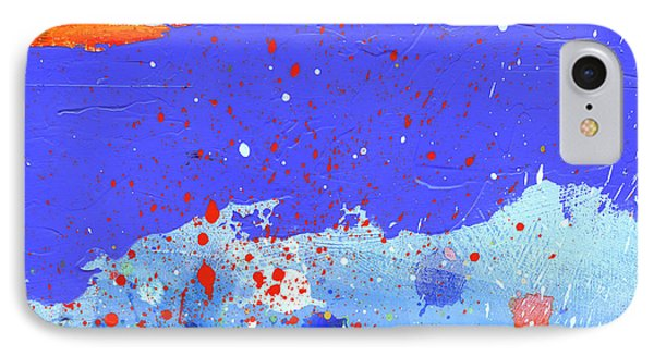 Splash#5 Phone Case by Jane Davies