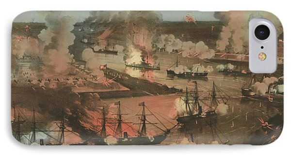 Splendid Naval Triumph Of The Mississippi IPhone Case