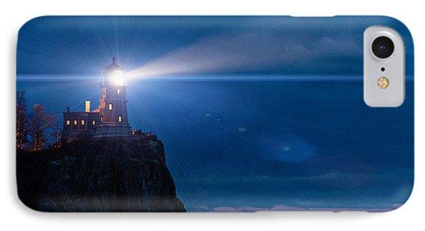 Split Rock Beacon Phone Case by Mark Goodman