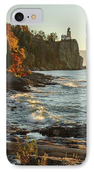Split Rock Lighthouse At Sunrose IPhone Case