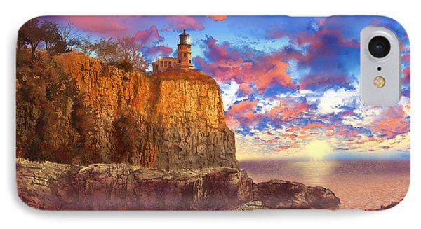 Split Rock Lighthouse IPhone Case