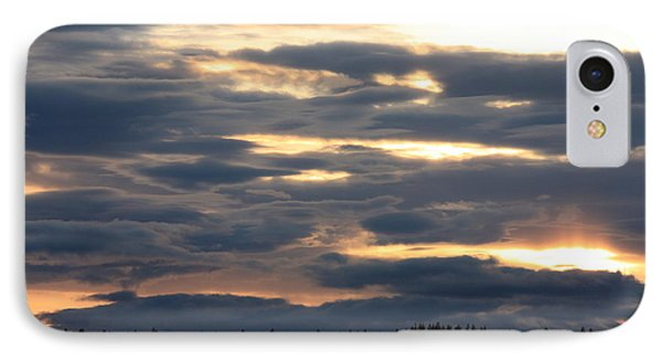 Spokane Sunset - Give God The Glory Phone Case by Carol Groenen