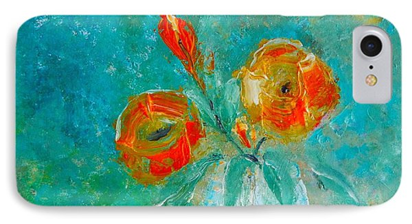 Palette Knife Floral IPhone Case by Lisa Kaiser