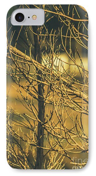Spooky Country House Obscured By Vegetation  IPhone Case by Jorgo Photography - Wall Art Gallery