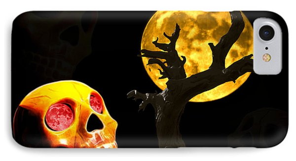 IPhone Case featuring the photograph Spooky Night by Shane Bechler