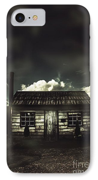 Spooky Old Abandoned House In Dark Forest IPhone Case
