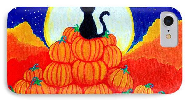 Spooky The Pumpkin King Phone Case by Nick Gustafson