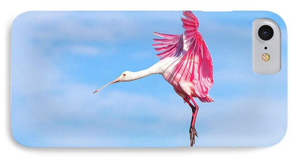 Spoonbill Ballet IPhone 7 Case by Mark Andrew Thomas