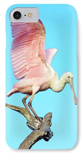 Spoonbill Flight IPhone 7 Case