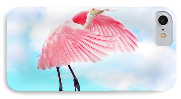 Spoonbill Launch IPhone 7 Case by Mark Andrew Thomas