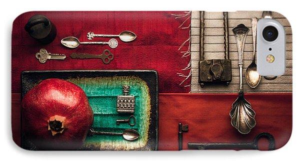 Spoons, Locks And Keys IPhone Case by Ana V Ramirez