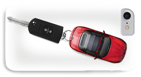 Sports Car Key IPhone Case by Jorgo Photography - Wall Art Gallery