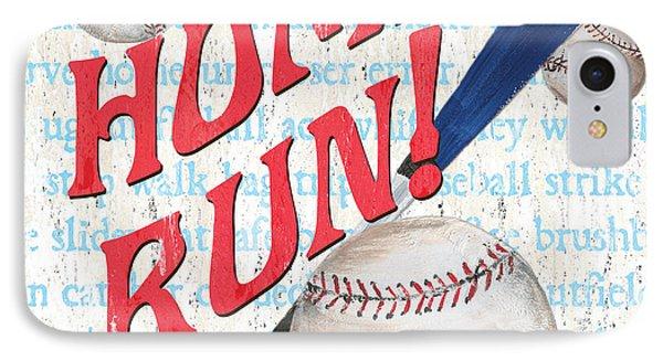 Sports Fan Baseball IPhone Case by Debbie DeWitt