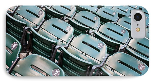 Sports Stadium Seats Photo IPhone Case by Paul Velgos