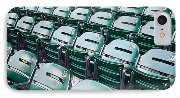 Sports Stadium Seats Picture IPhone Case by Paul Velgos