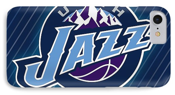 Sports Utah Jazz                    IPhone Case by F S