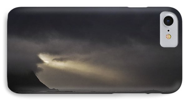 Spotlight In The Sky IPhone Case by Heiko Koehrer-Wagner
