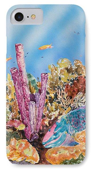 Spotlight Parrotfish Phone Case by Tanya L Haynes - Printscapes