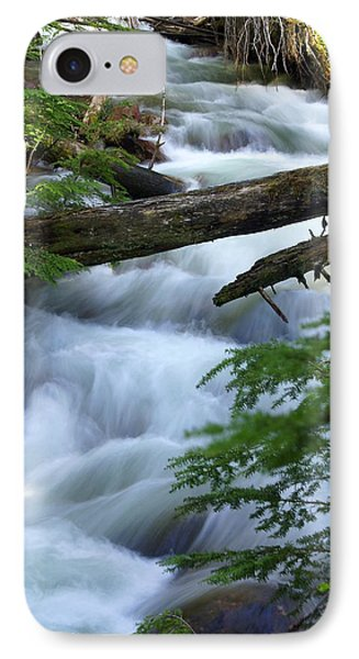 Sprague Creek Glacier National Park Phone Case by Marty Koch