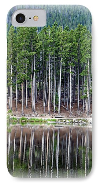 Sprague Lake 03 IPhone Case by Pamela Critchlow