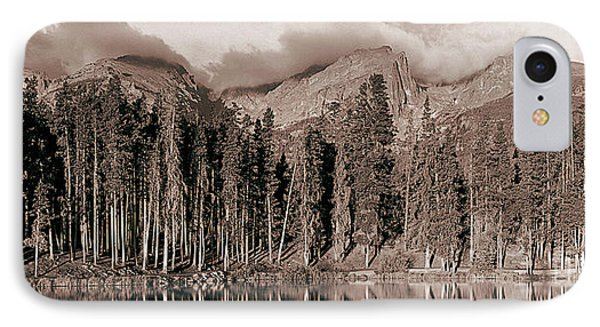 IPhone Case featuring the photograph Sprague Lake Morning by Thomas Bomstad