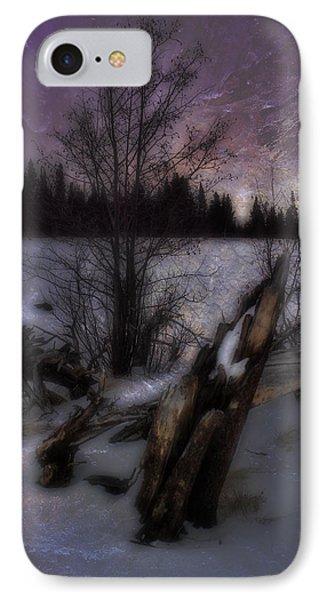 IPhone Case featuring the photograph Sprague Lake Winter Dream by Ellen Heaverlo