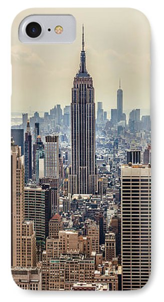 Sprawling Urban Jungle IPhone Case by Az Jackson