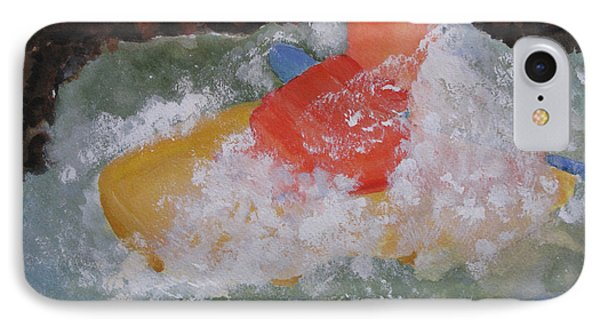 IPhone Case featuring the painting Spray by Sandy McIntire